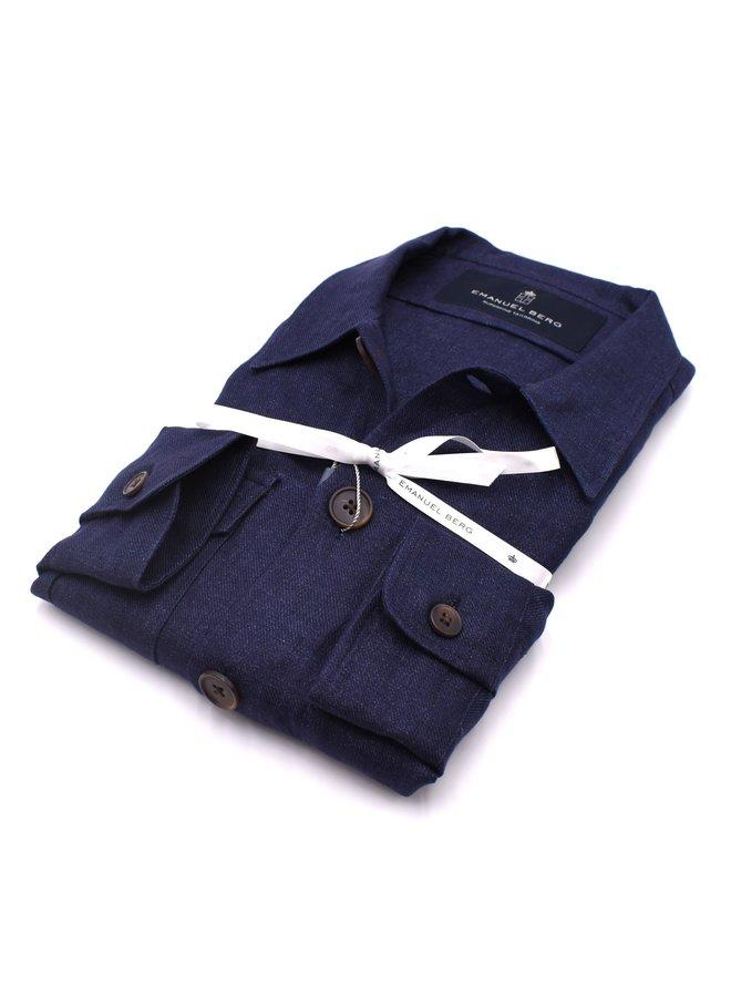Over-Shirt - Bleu