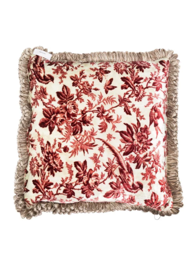 """Coussin """"Multi-Printed vs Kanpur"""""""