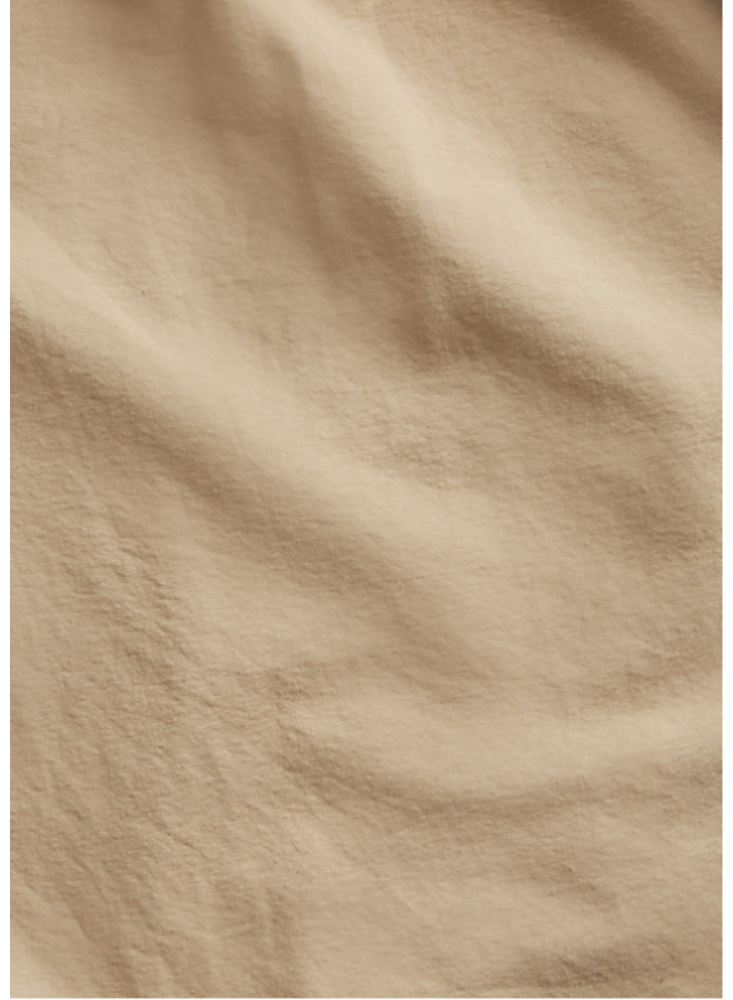 Col Boutonné - Camel