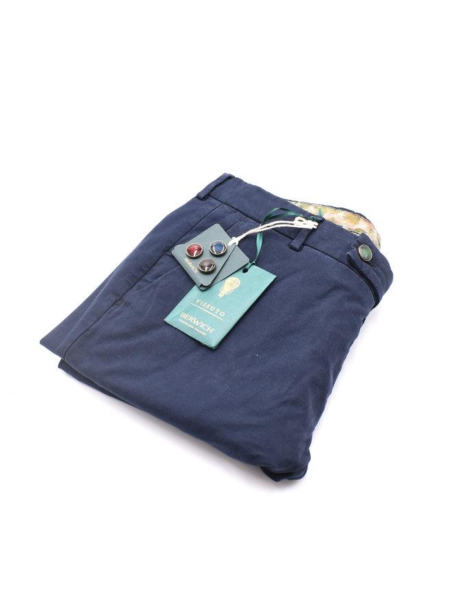 Chino bleu cotton