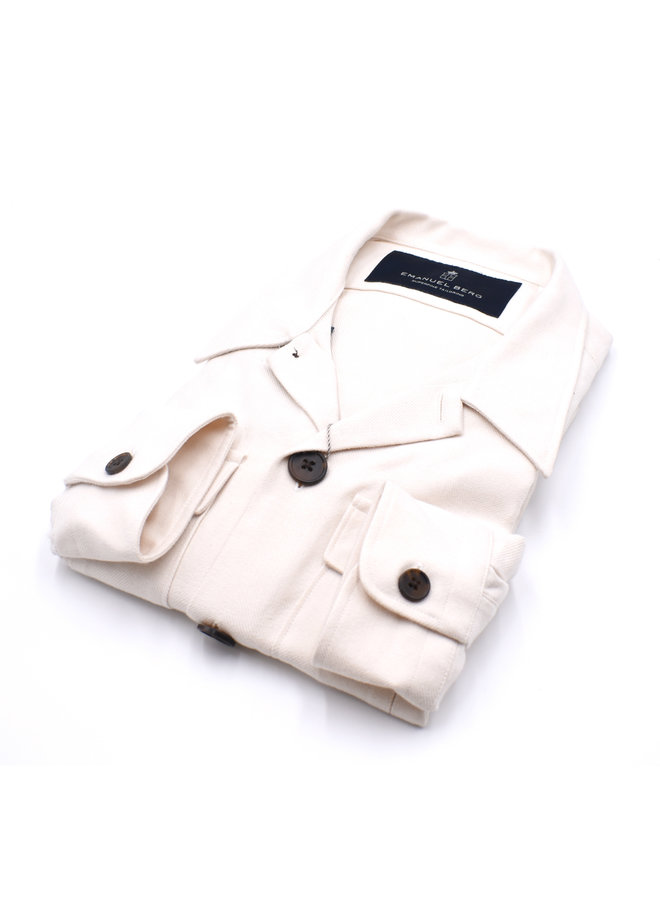 Over-Shirt - White Winter