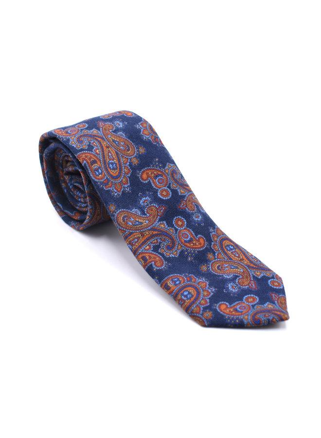 Cravate à motifs paisley
