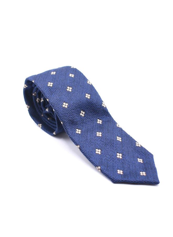 Cravate à fleurs