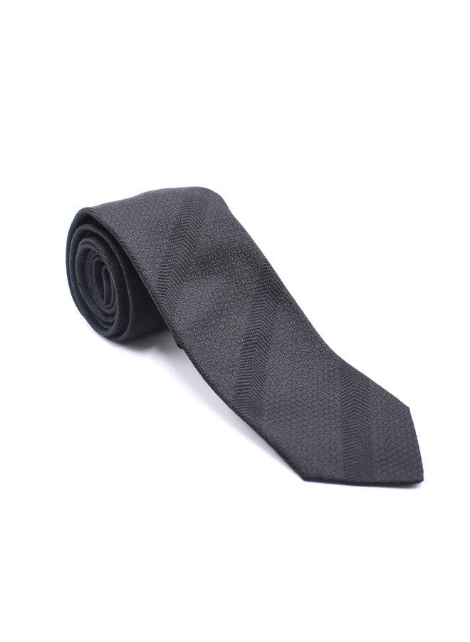 Cravate texturée