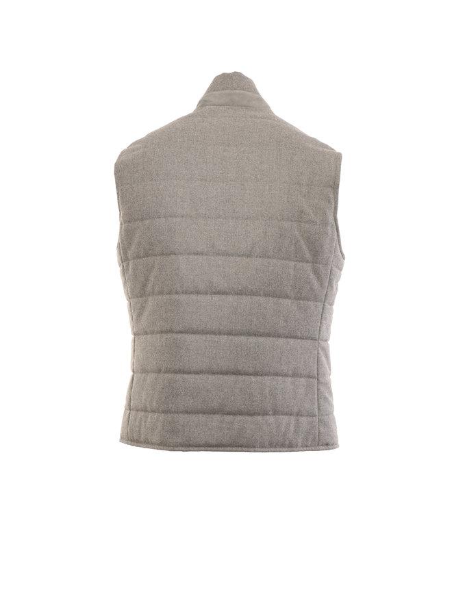 Body-Warmer reversible grey - Eleventy