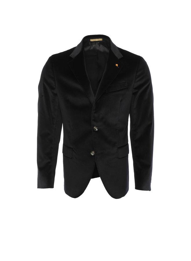 Blazer black velvet