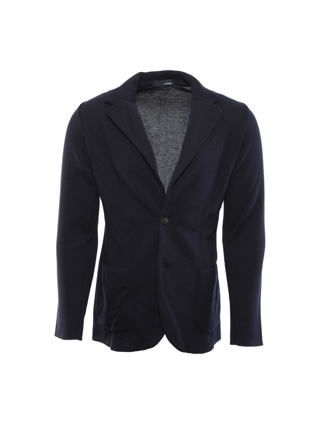 Giacca Maglia Luxury - Navy