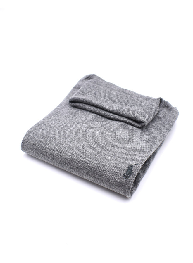 Col roulé - bright grey