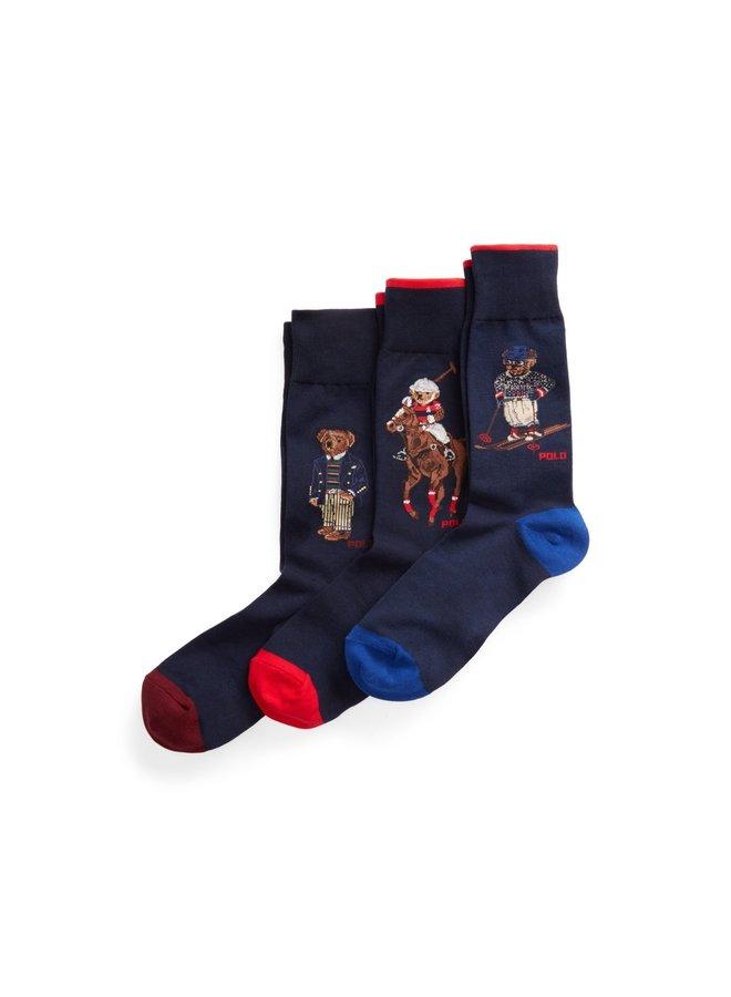 "Coffret chaussettes ""Polo Bear"""