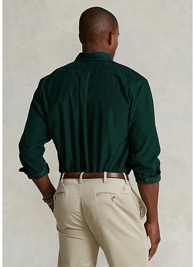 Over-Shirt - Velvet green