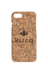 KURQ - Cork phone case for  iPhone 7, iPhone 8 & iPhone SE 2020