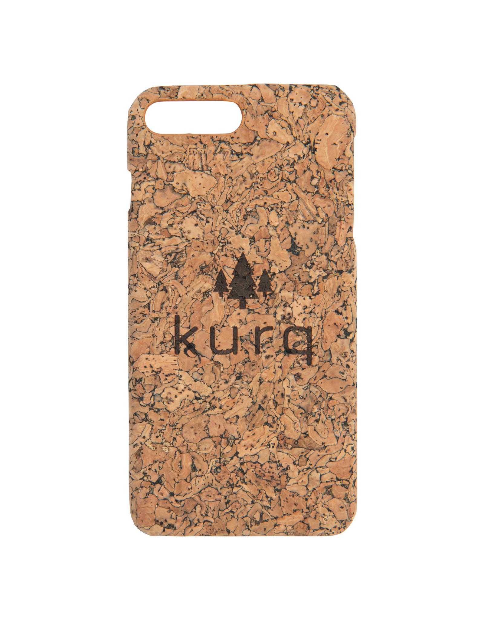 KURQ - Cork phone case for iPhone 7 Plus & iPhone 8 Plus