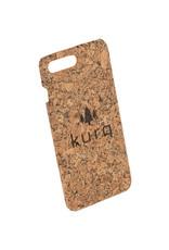 KURQ - Kurk telefoonhoesje voor iPhone 7 Plus & iPhone 8 Plus