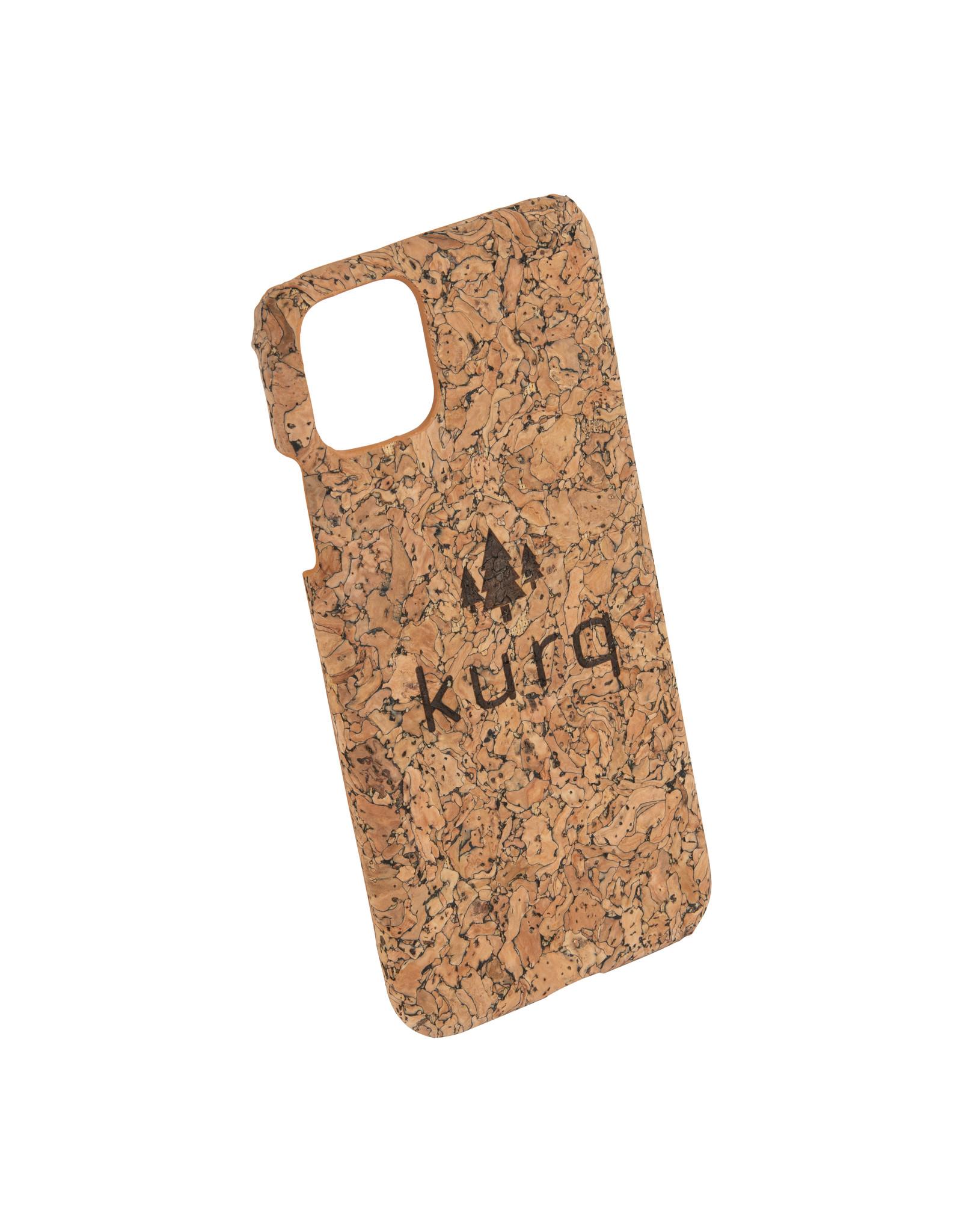 KURQ - Cork phone case for iPhone 11 Pro Max