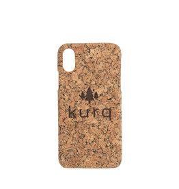 iPhone X/XS Kurk telefoonhoesje - KURQ