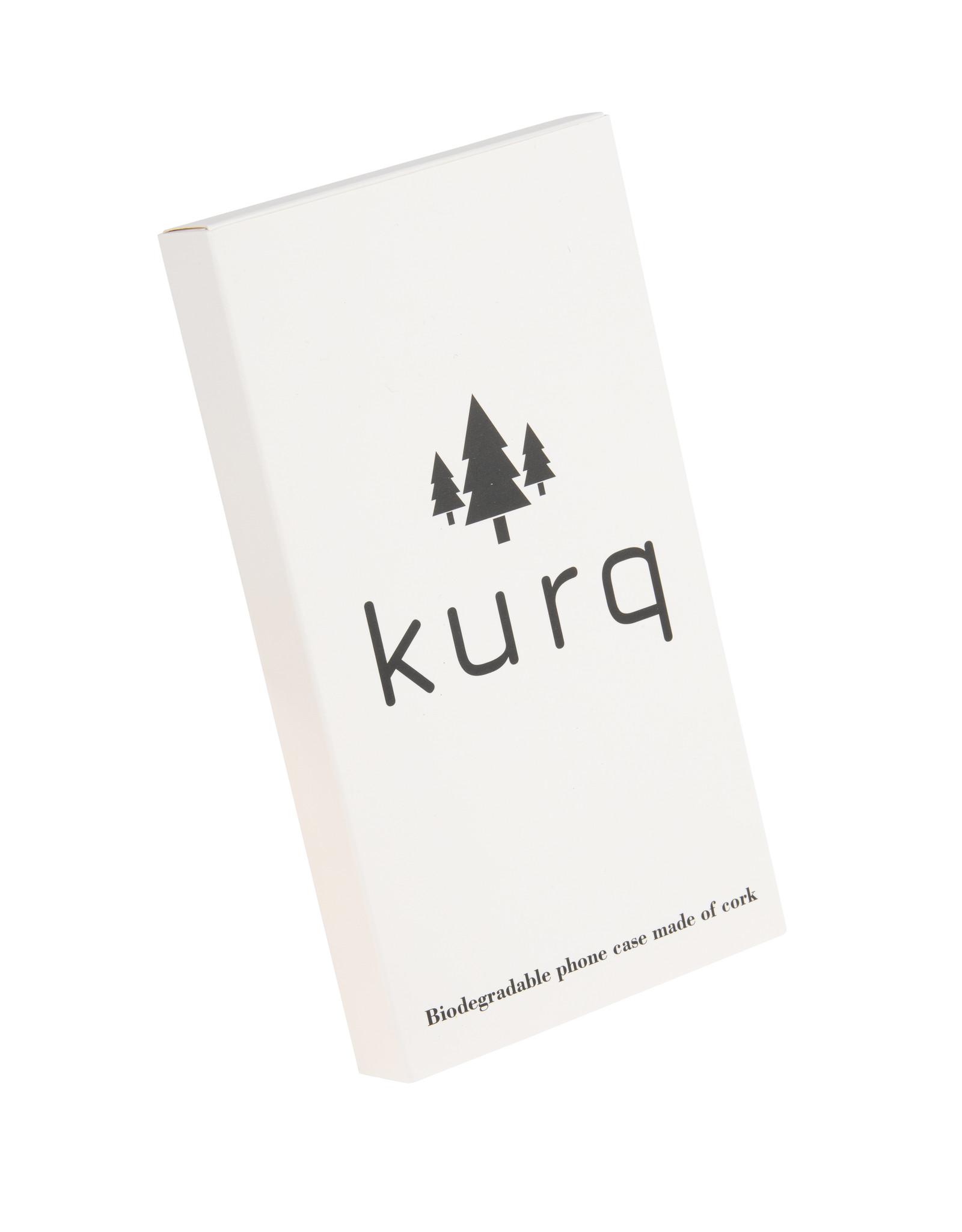 KURQ - Cork phone case for Samsung Note 10 Pro