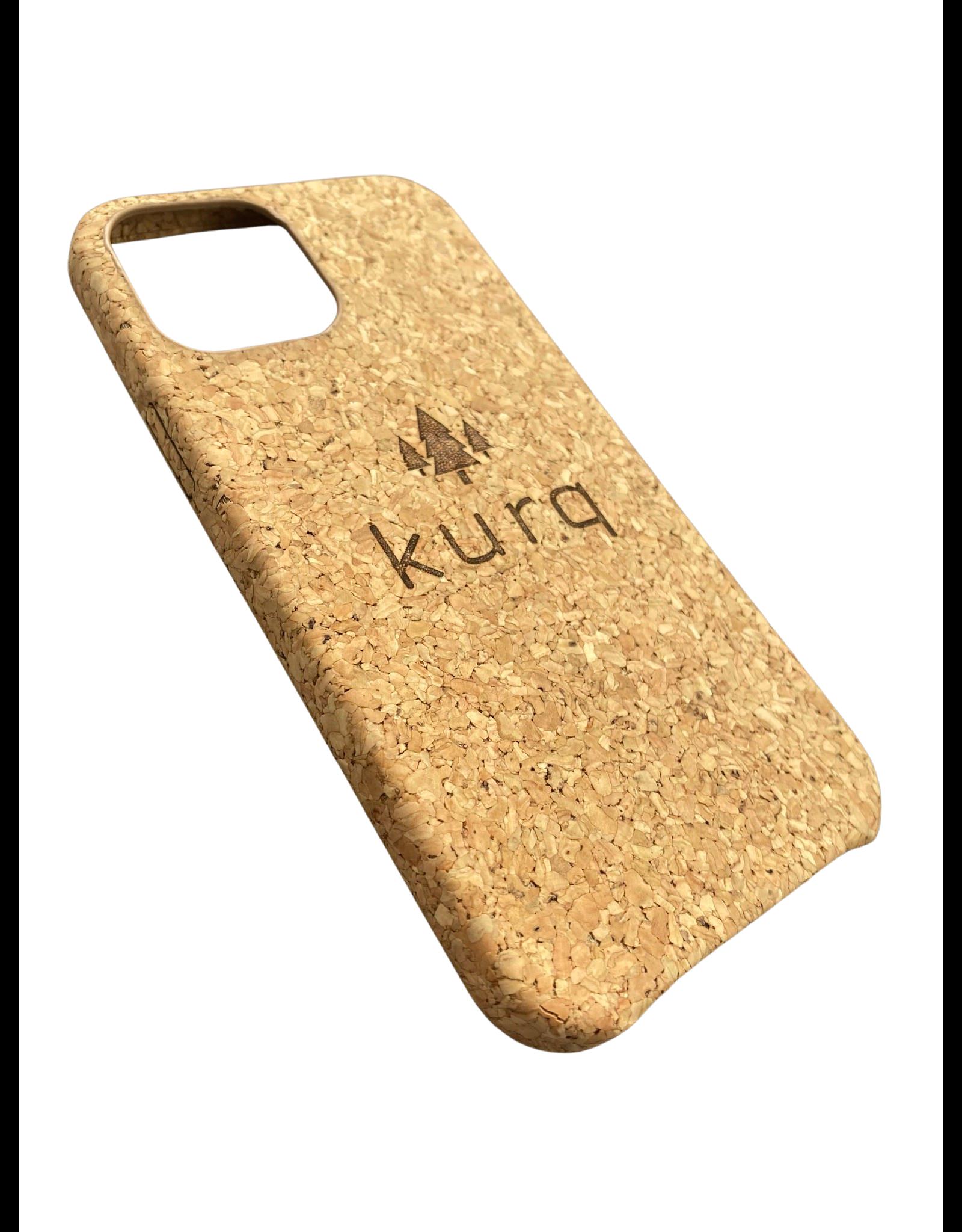 KURQ  - Kurk telefoonhoesje voor iPhone 12/12 Pro