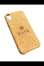 KURQ - Kurk telefoonhoesje voor iPhone XS Max