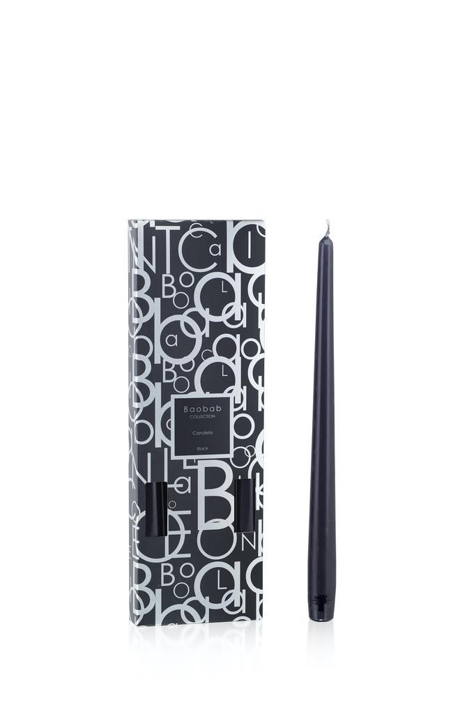 BAOBAB COLLECTION - Candela sticks Black-1