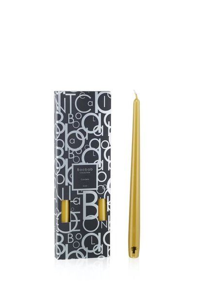BAOBAB COLLECTION - Candela Sticks Gold