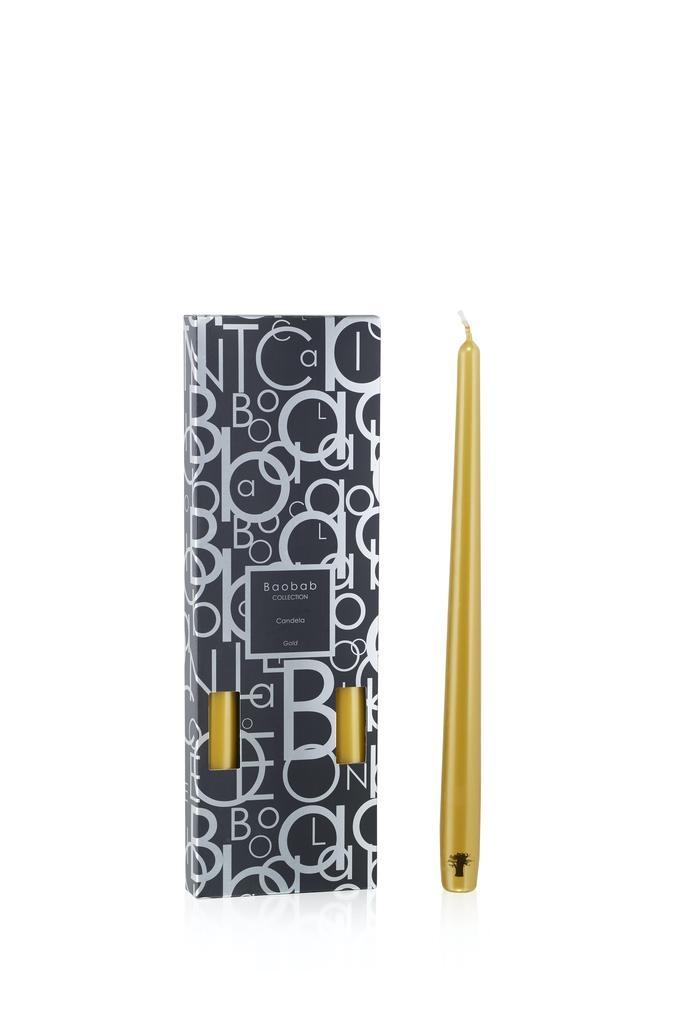 BAOBAB COLLECTION - Candela Sticks Gold-1