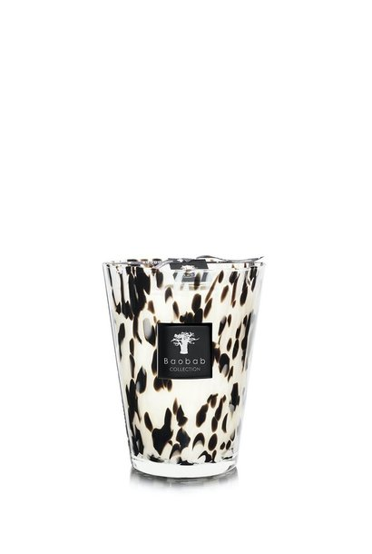 BAOBAB COLLECTION - Candle Black Pearls Max 24