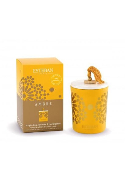 ESTEBAN -  Candle Amber 170gr