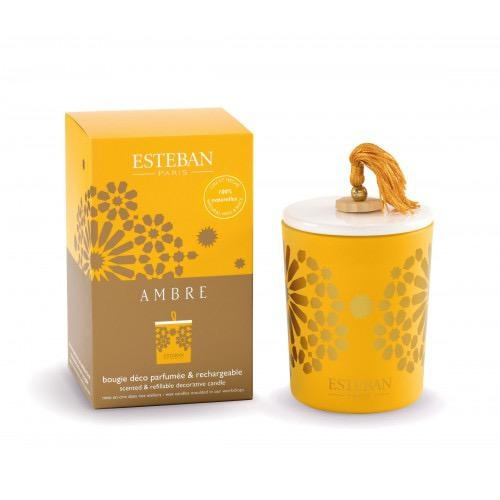 ESTEBAN -  Candle Amber 170gr-1