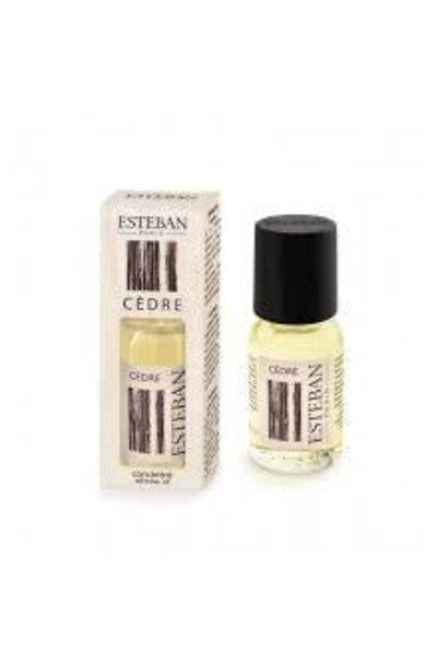 ESTEBAN - Concentré de Parfum Cèdre 15ml