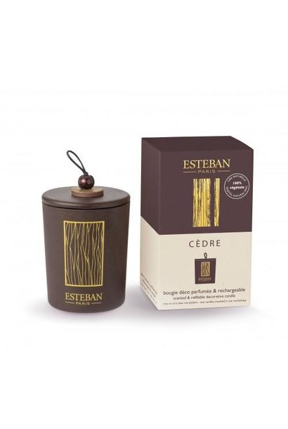 ESTEBAN - Bougie Cèdre 170gr