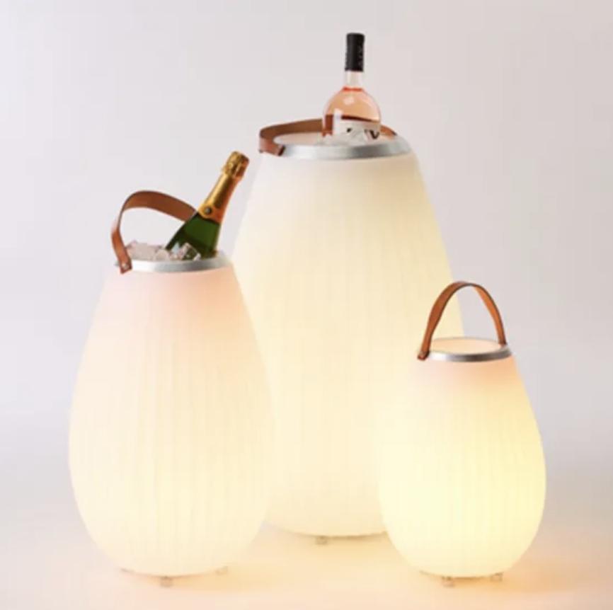 JOOULS - Bluetooth Light Speaker - Champagne Bucket 35cm-2