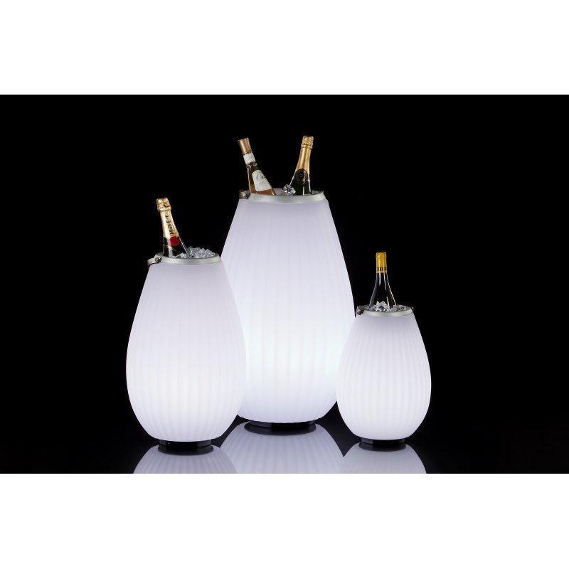 JOOULS - Bluetooth Light Speaker - Champagne Bucket 35cm-5