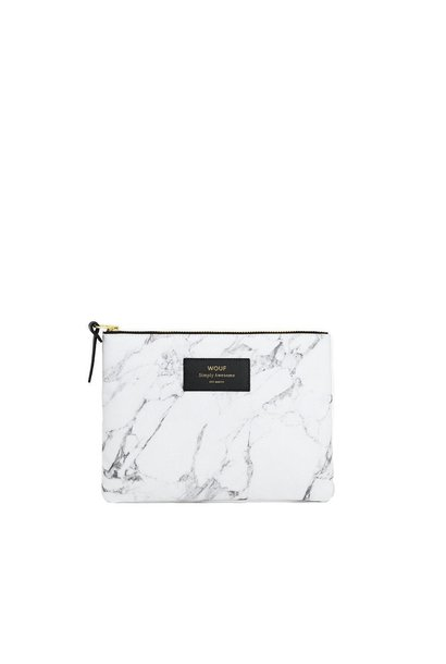 WOUF - Pouch White Marble L