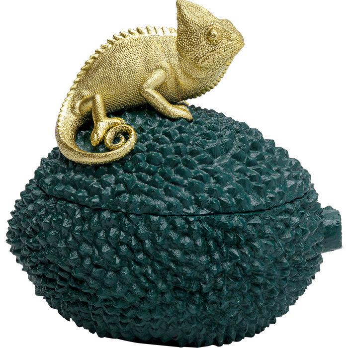 KARE DESIGN - Decorative Box Chameleon 20cm-1