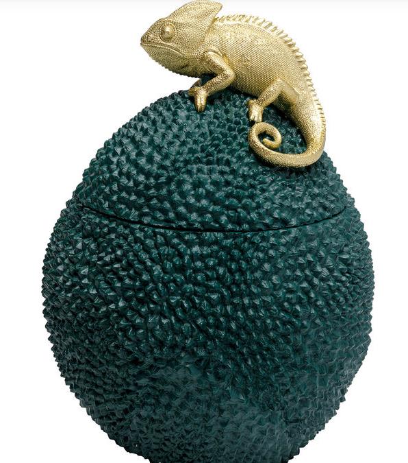 KARE DESIGN - Decorative Box Chameleon 34cm-1