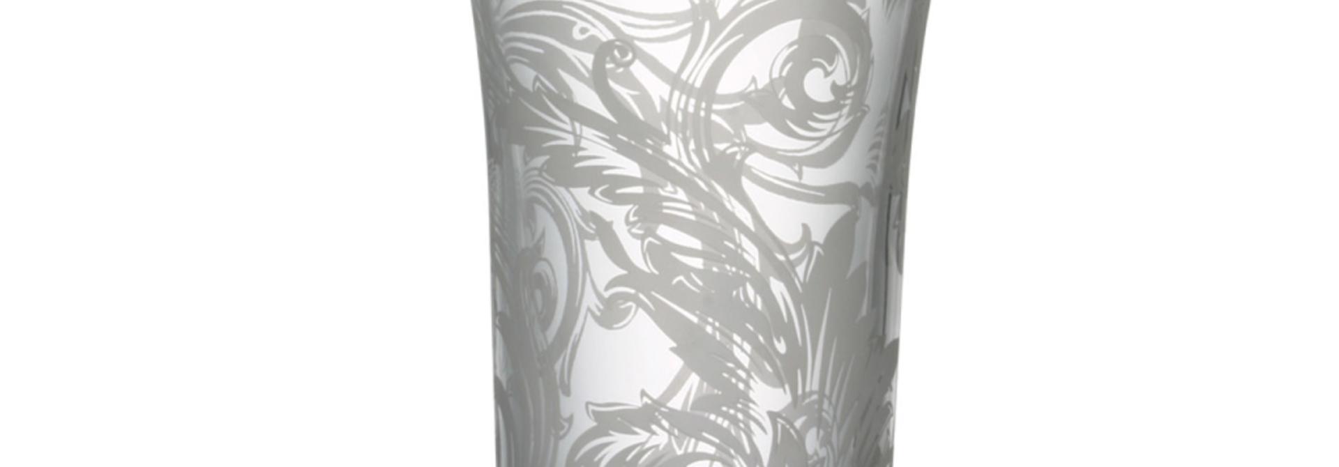 ROSENTHAL - VERSACE Vase Glass 26cm