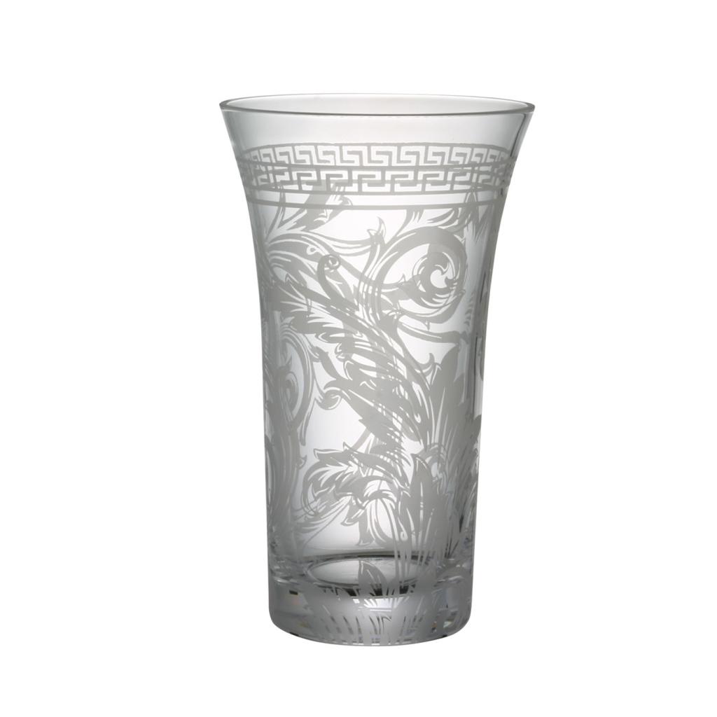 ROSENTHAL - VERSACE Vase Glass 26cm-1