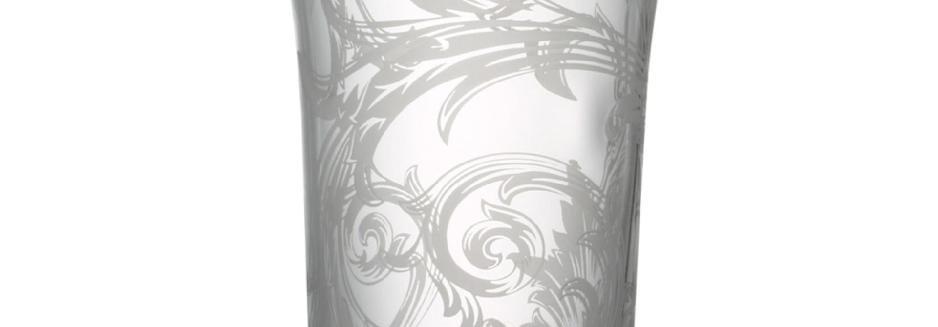 ROSENTHAL - VERSACE  Vase Glass 34cm