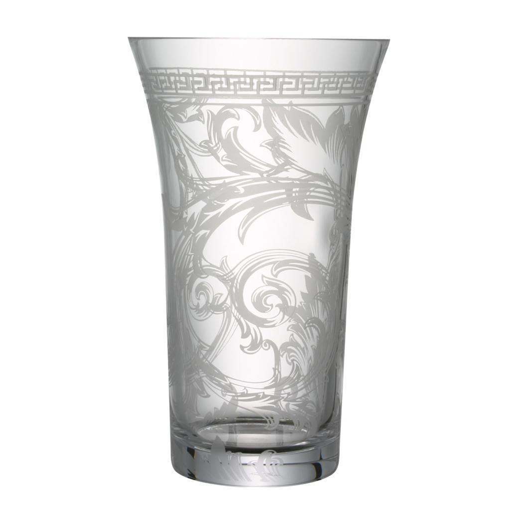 ROSENTHAL - VERSACE  Vase Glass 34cm-1
