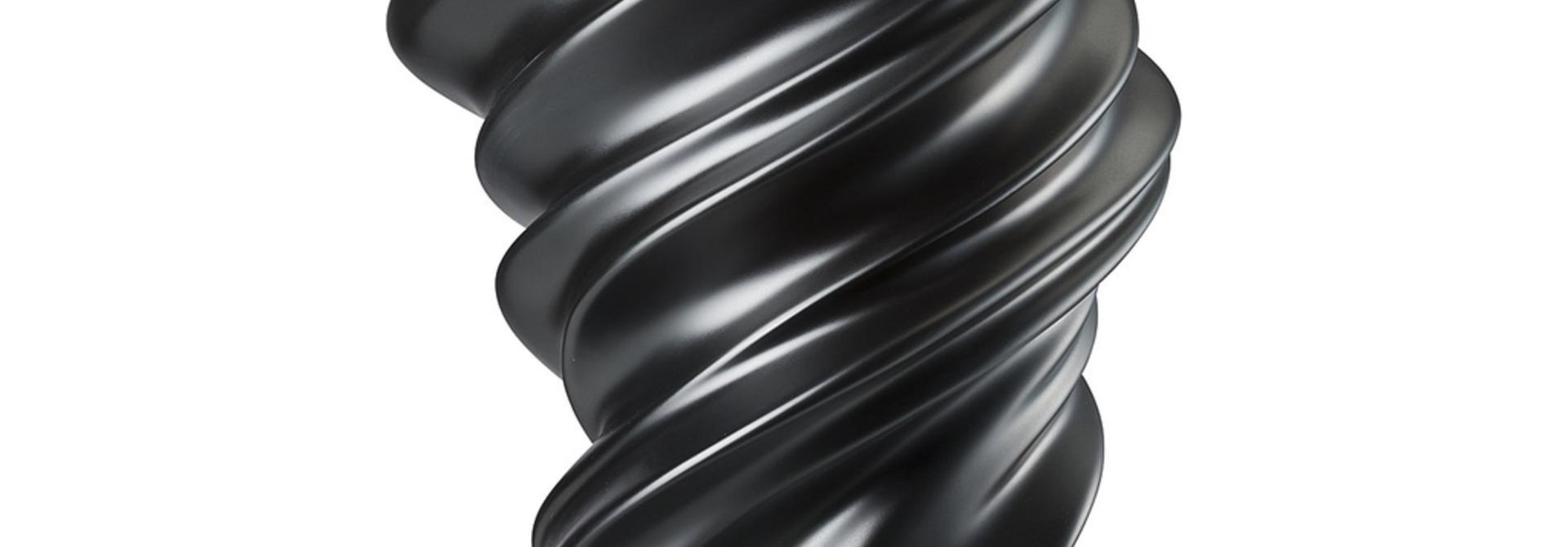 ROSENTHAL - Vase Squall Scharz 32cm