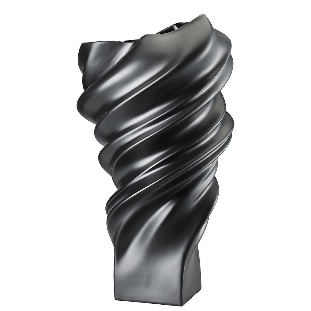 ROSENTHAL - Vase Squall Scharz 32cm-1