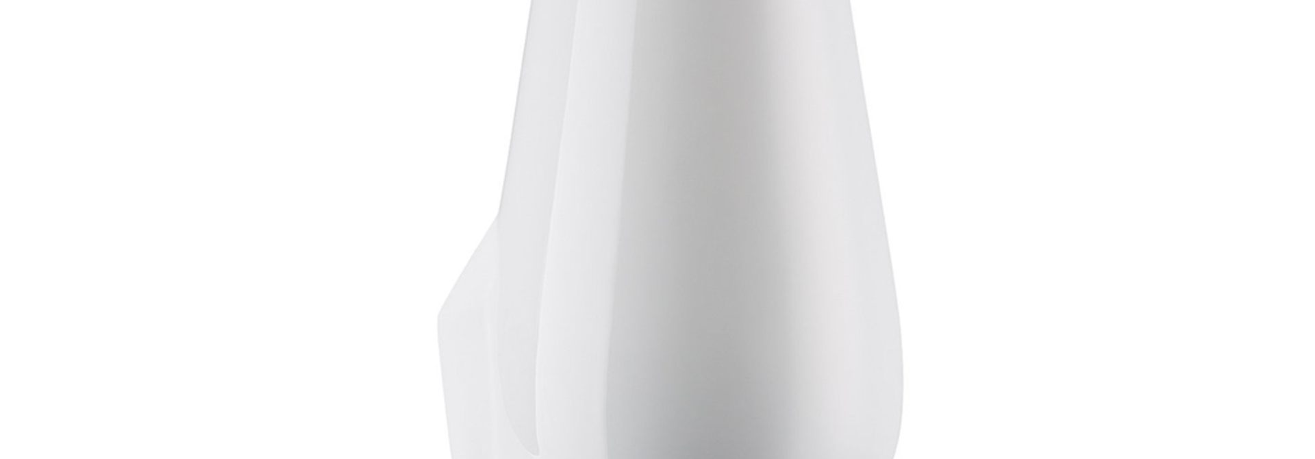 ROSENTHAL - Vase Geode Weiss 27cm