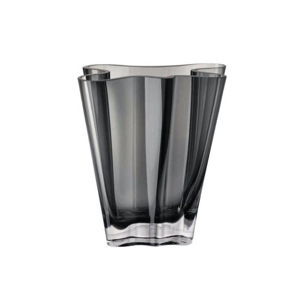 ROSENTHAL - Vase Flux Grey 14cm-1