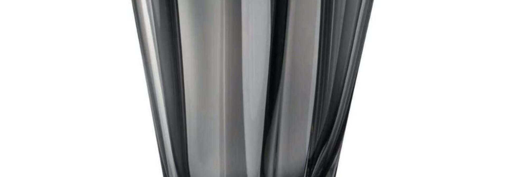 ROSENTHAL - Vase Flux Grey 20cm