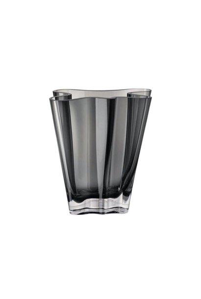 ROSENTHAL - Vase Flux Gris 20cm