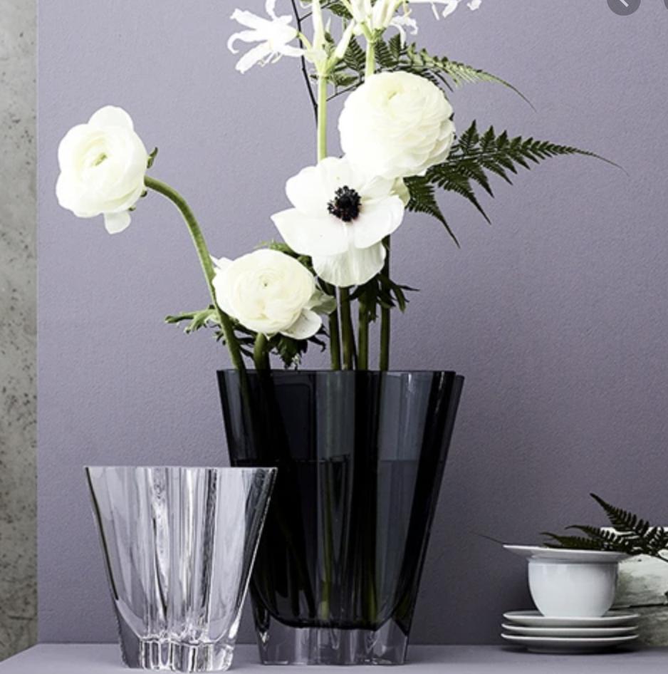ROSENTHAL - Vase Flux Grey 20cm-3