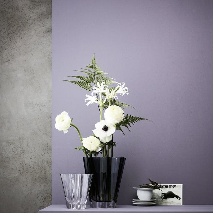 ROSENTHAL - Vase Flux Grey 14cm-3
