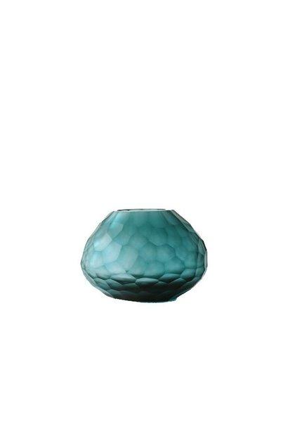 GUAXS - Vase Otavalo Petrole Clair 14cm