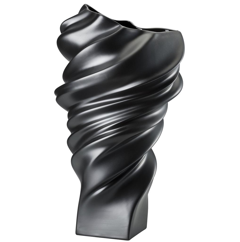 ROSENTHAL - Vase Squall Scharz 32cm-2