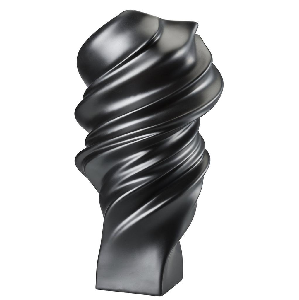 ROSENTHAL - Vase Squall Scharz 32cm-3